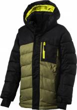 Kinder Ski-,Snowboard u. Winterjacke Firefly 'TYSON II' black/olive 280381