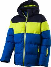 Kinder Winter- u. Skijacke McKinley 'Troy' blue royal/green 267568