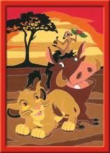 Ravensburger 277865 Malen nach Zahlen Serie E Der König der Löwen