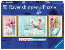 Ravensburger 194872  Puzzle Magic Flowers 1000 Teile Triptychon