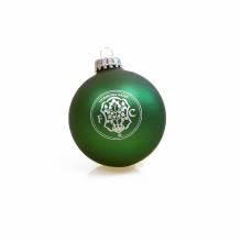 Weihnachtskugel-Set Grün