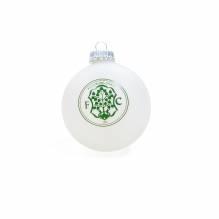 Weihnachtskugel-Set Weiß