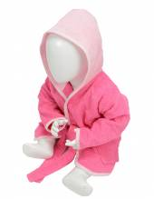Babiezz Bathrobe with Hood (Pink)