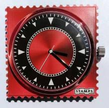 S.T.A.M.P.S. - Uhr 'Code Red' - wasserdicht bis 50 Meter Wassertiefe