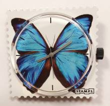 S.T.A.M.P.S. - Uhr 'Blue Butterfly'