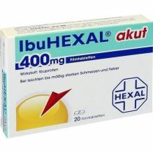 Ibuhexal akut 400 Filmtabletten 20 St