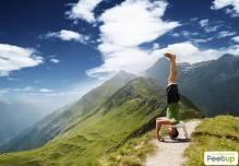 Balancetrainer Weihnachten Bauchtrainer Yoga & Pilates Feetup