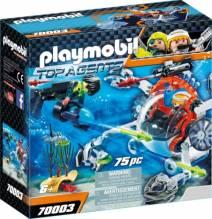 Playmobil 70003 SPY TEAM Sub Bot