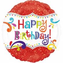 1 Folienballon - Geburtstagsspektakel