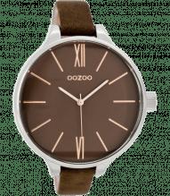 Oozoo Damen Armbanduhr mit schmalen Armband braun kupfer C7538