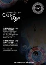 Eintrittskarte Silvester Gala 2016