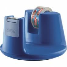 tesa Tischabroller Easy Cut Compact 53825-00000 blau +Klebefilm