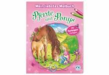 Ravensburger 03142 Mein Malbuch Pferde Ponys