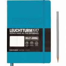 LEUCHTTURM Notizbuch Bullet Journal 357675 Medium DIN A5 nordic blue