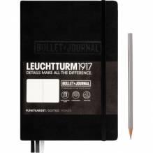 LEUCHTTURM Notizbuch Bullet Journal 346703 Medium DIN A5 schwarz