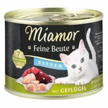 Miamor Feine Beute Kitten Geflügel 185g