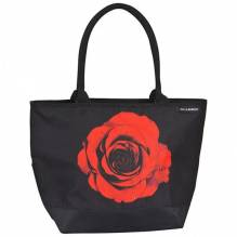 Tasche Shopper bedruckt mit Motiv 'Rose'