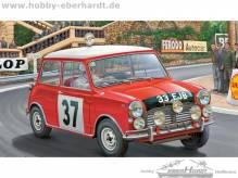 Revell 07064 Mini Cooper Winner Rally Monte Carlo 1964 Maßstab1:24