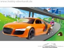 Revell 06111 Audi R8 Build & Play Maßstab1:24