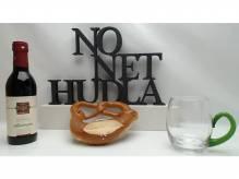 Dekorationsschriftzug NO NRT HUDLA Lackiert