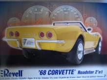 RE85-2544 Revell USA Corvette Convertible 1968 (2 mögliche Bauvarianten)