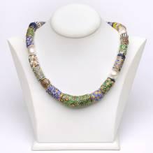 Halsketten Halsketten Millefiorie