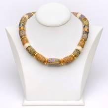 Halsketten Millefiorie
