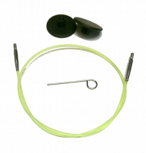 Seil für Nadelspitzen - 60cm Gesamtlänge