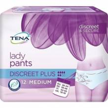 Tena Lady Pants Discreet plus M 12 St