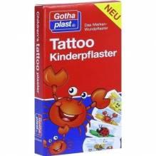 Tattoo Kinderpflaster 25x57 mm 8 St