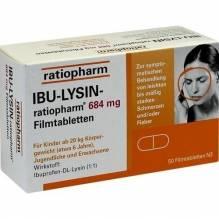 Ibu-Lysin-ratiopharm 684 mg Filmtabletten 50 St