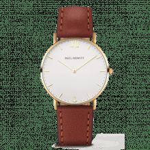 Paul Hewitt Armbanduhr mit Lederband