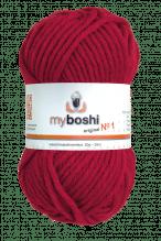My Boshi No.1  -  Farbe 134  chillirot