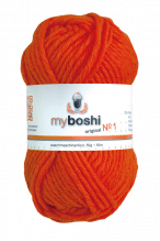 My Boshi No.1  -  Farbe 181  neon orange