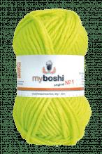 My Boshi No.1  -  Farbe 185  neon gelb
