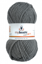 My Boshi No.1  -  Farbe 194  titan grau