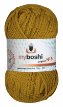 My Boshi No.5  -  Farbe 511  curry