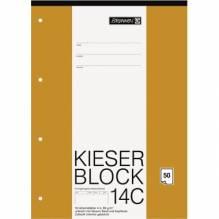Block A4 Kieserblock unliniert 50Bl