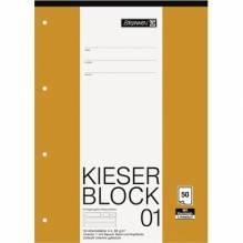 Block A4 Kieserblock Lin1 50Bl