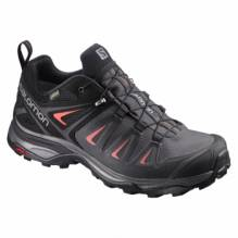 Salomon Multifunktionsschuh X Ultra 3 GTX W magnet/black/red