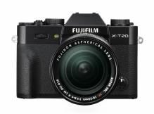 FUJIFILM X-T20 Systemkamera mit XC16-50mm II + XC50-230mm Doppelzoom-Kit