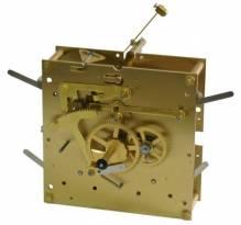 Uhrenreparatur Wanduhr   mit ½ Stunden Bimbam Schlagwerk und Beispielbilder