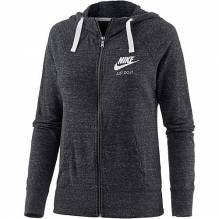 Nike Gym Vintage Sweatjacke Damen anthracite