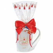 Lindt 'Weihnachtsmann-Tasse' gefüllt, 100g
