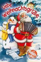 Liebe Weihnachtsgrüße, m. Weihnachts-Malbuch