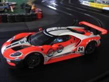 23841 Carrera Digital 124 Ford GT Race Car No. 24