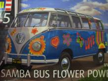 RE07050 Revell VW T1 Samba Bus Flower Power 1:24