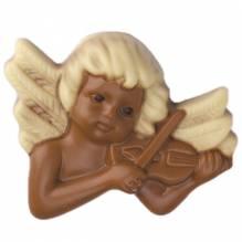 Weibler Relief 'Engel Violine' Vollmilch-Schokolade, 40 g