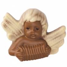 Weibler Relief 'Engel Akkordeon' Vollmilch-Schokolade, 40 g