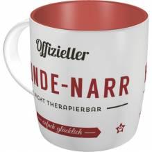 Kaffee- & Teebecher PfotenSchild